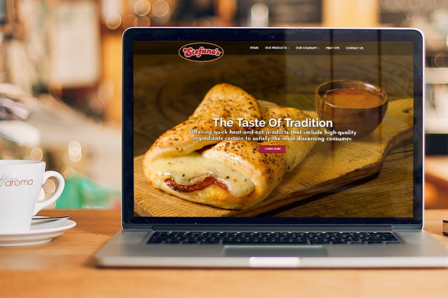 Stefano Foods website launched